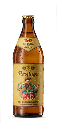 Flötzinger 1543 Hefe-Weißbier kellertrüb