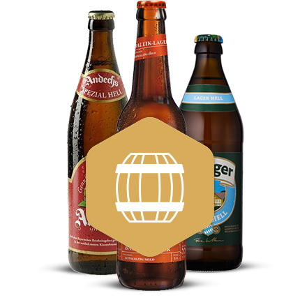 Lager Bier-Box
