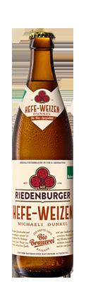 Riedenburger Hefe-Weizen Michaeli Dunkel